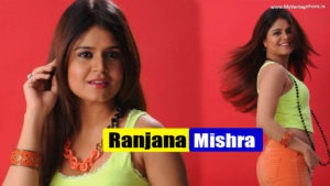 Read more about the article Ranjana Mishra Hot Spicy Photoshoot in Orange Hot Pants on Blue Chair for Yavum Kadhale Movie