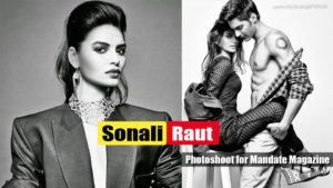 Sonali Raut – Hot Girl From The XPose Movie Sizzling Photoshoot for Mandate Magazine