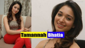 Tamannah Bhatia in Sexy Hot Red Pants & Sleeveless Leopard Skin Top