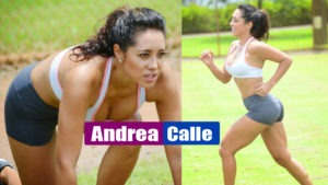 Andrea Calle – Working Out at a Park in Miami – Super Hot Pics