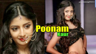 Beautiful Poonam Kaur Walks the Ramp at Hyderabad International Fashion Week