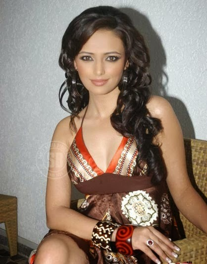 Roshni Chopra - Superhot TV Actress and Anchor of Comedy Circus in Sexy Dress_VP (6)