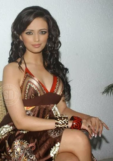 Roshni Chopra - Superhot TV Actress and Anchor of Comedy Circus in Sexy Dress_VP (7)