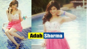 Read more about the article Adah Sharma –  Cute & Beautiful Actress Latest Photoshoot in Sexy Mini Pink Dress beside Pool