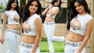 Ritu Kaur – South Indian Bold and Sexy Impressive Photoshoot in Gardern in Sexy White Top & Tight Jeans
