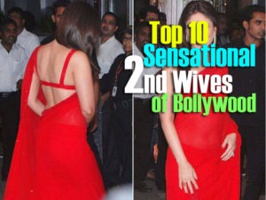 list of second wife of bollywood