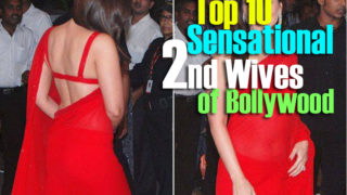 Top 10 Sensational Second Wives of Bollywood