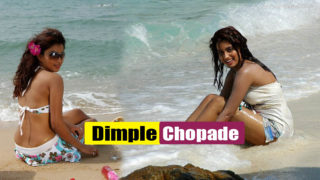 Dimple Chopade Hot & Spicy Pics In Bikini at Beach