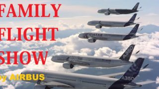 FAMILY FLIGHT SHOW by Airbus of Five A350 XWBs together in flight | MUST WATCH