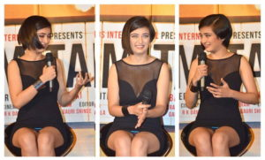 Read more about the article Akshara Haasan on Trailer Launch of Movie Shamitabh with Dhanush & Amitabh Bacchan