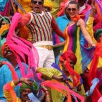 Amy Jackson & Vikram Colourful Song in Movie Ai or I (2015)_VP