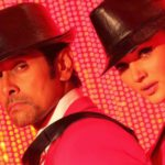 Amy Jackson & Vikram in Hot Still in Red of Movie Ai or I (2015)_VP