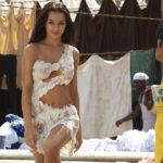 Amy Jackson coming out of pool in White Dress in Movie Ai or I (2015)_VP