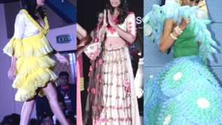 CONTROVERSIAL : Mugdha Godse As Show Stopper in India's first condom fashion show