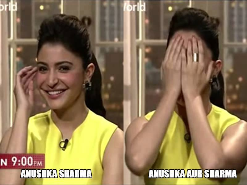 Hilarious Memes on Bollywood Celebrities with their Names