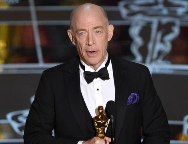 JK Simmons has won the best supporting actor at Oscars 2015 for Whiplash