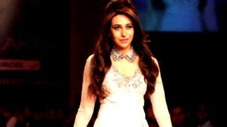 Karishma Kapoor Stunning Ramp Walk in Sexy Outfit at Lakme India Fashion Week