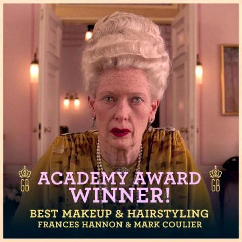 The Grand Budapest Hotel Best Makeup to Frances Hannon, Mark Coulier and Milena Canonero