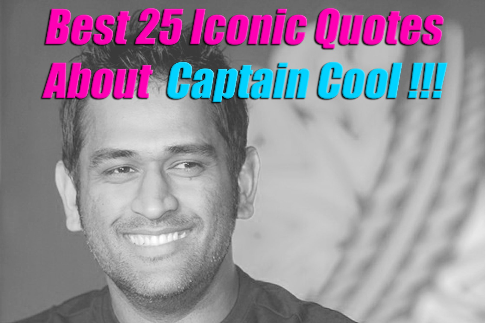 best quotes on Dhoni