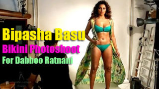 Bipasha Basu's Bikini Photoshoot for Dabboo Ratnani's Calendar 2015 | Making