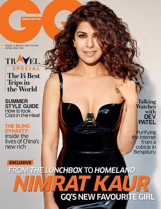 Nirmat Kaur on GQ Magazine Cover