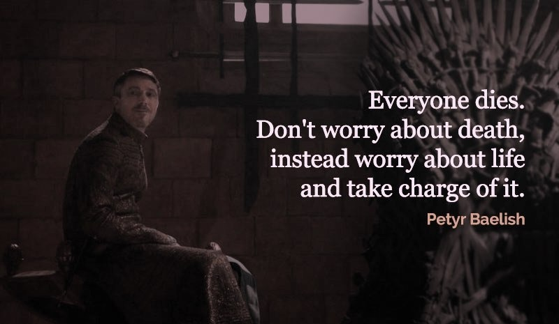 Game of thrones quotes of littlefinger