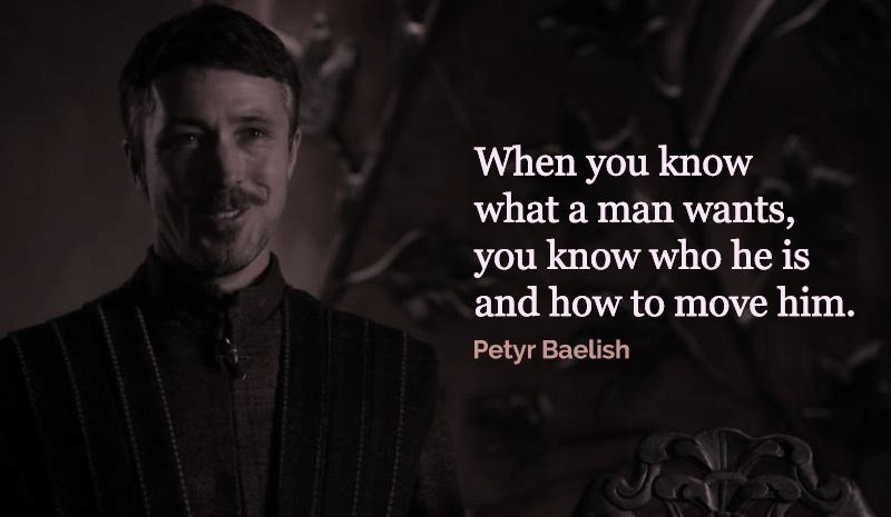 Petyr Baelish best quotes