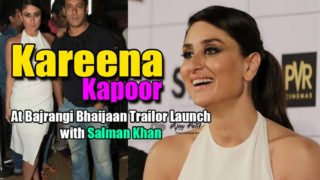 Kareena Kapoor & Salman Khan at The Trailer Launch of Bajrangi Bhaijaan