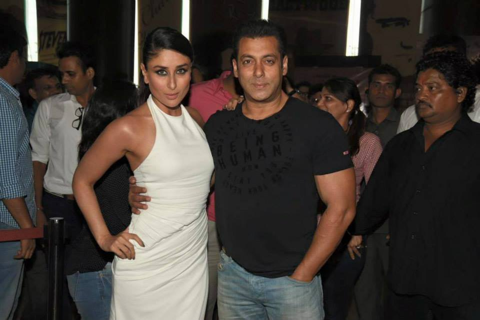 kareena kapoor with salman khan at bajrangi bhaijaan trailer launch