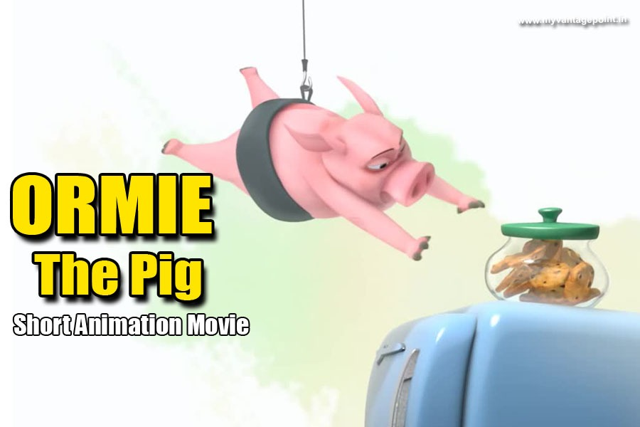 Ormie The Pig short animation movie, best animation movie, short funny animation movie