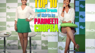 Top 10 Fashion Trends of Skirts by Parineeti Chopra