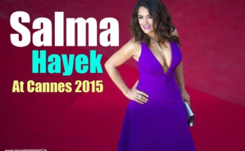 Salma Hayek hot red carpet walk at cannes 2015
