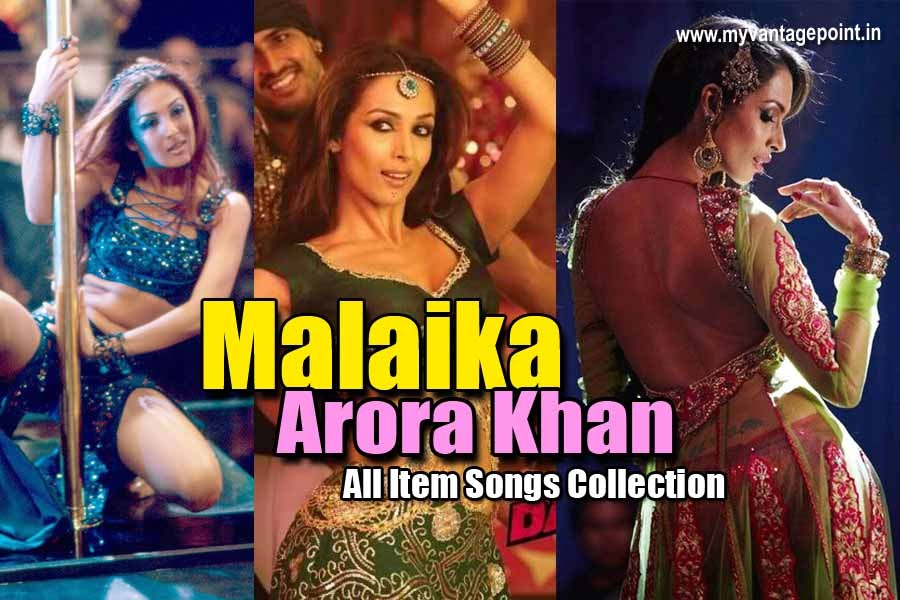 list of malaika arora all item songs