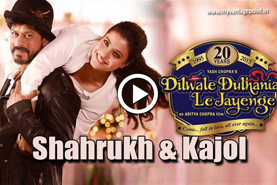 Kajol & Shahrukh khan tribute video for DDLJ