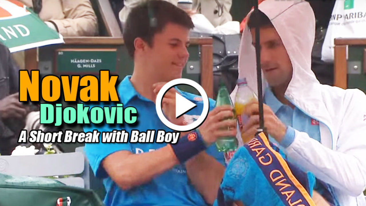 Novak Djokovic Ball Boy Incident At French Open