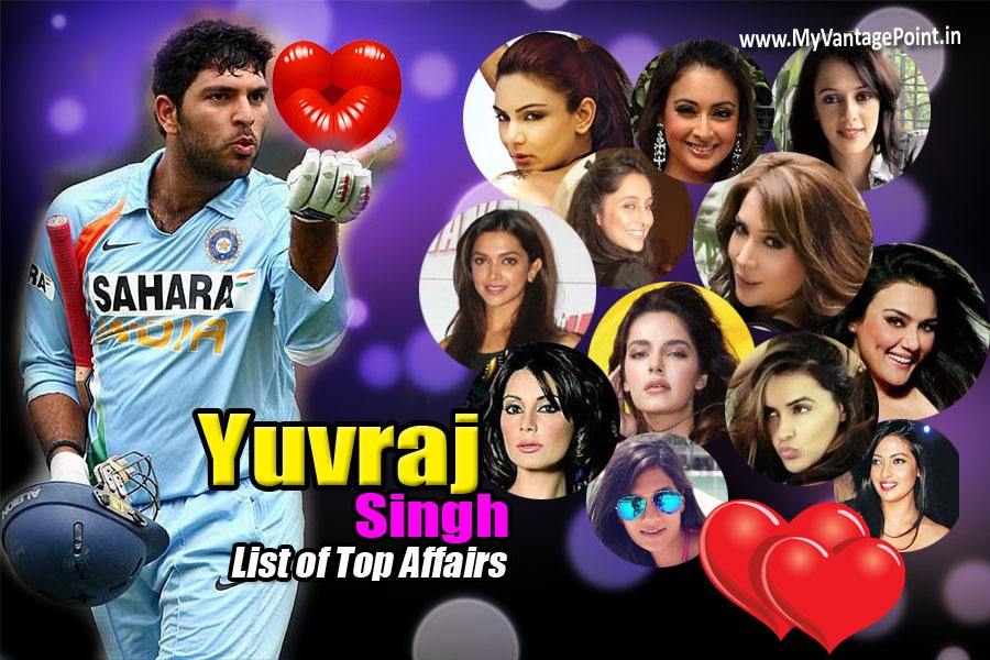 Yuvraj Singh all affairs with bollywood actress, list of Yuvraj Singh girlfriends, Yuvraj Singh girlfriends, Yuvraj Singh dating, Yuvraj Singh ex girlfriends, all girlfriends of Yuvraj Singh