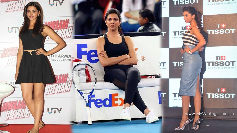Deepika Padukone hot legs, Deepika Padukone playing badminton, Deepika Padukone hot back, Deepika Padukone in high heels,