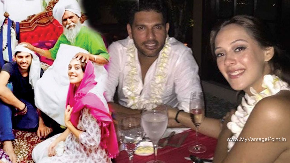 Hazel Keech and yuvraj singh together, yuvraj singh engagement pic, wife of yuvraj singh, yuvraj singh marriage, Hazel Keech affair with yuvraj singh