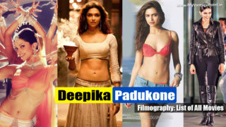 Deepika Padukone Filmography – Watch Full Movies Online
