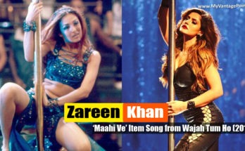 Zareen Khan item song Maahi Ve in Movie Wajah Tum Ho
