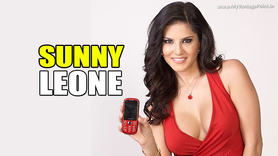 sunny leone to endorse xtouch