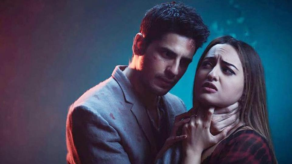 Sonakshi Sinha & Siddharth Malhotra in Ittefaq movie