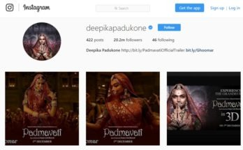 Deepika Padukone wins the race with highest followers on Instagram