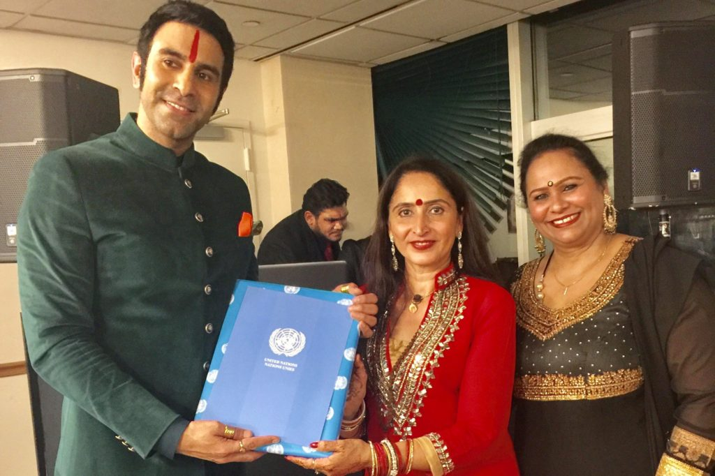 United Nations Headquarters Organises A Talk and A Dance Session by Sandip Soparrkar