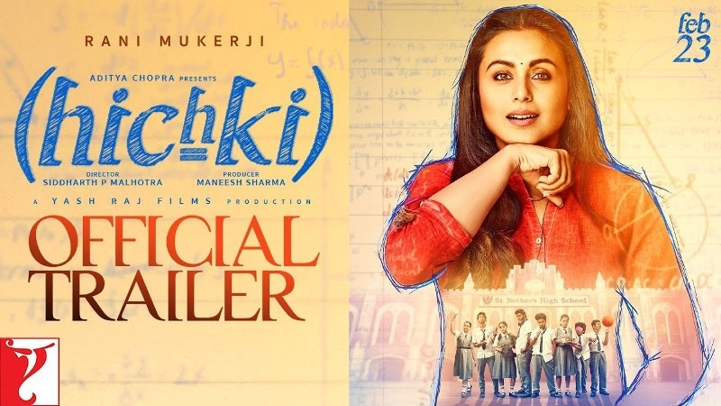 Rani Mukerji Hichki, Hichki movie trailer, Rani Mukerji in Hichki movie, Movie on Tourette Syndrome