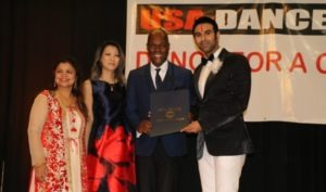 """Sandip Soparrkar awarded for """"Dance for a Cause"""" in United States of America"""