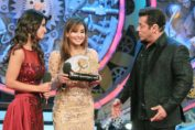 Shilpa Shinde Bigg Boss Winner, Bigg Boss 2017 winner Shilpa Shinde, Shilpa Shinde with Hina Khan, Salman Khan with Shilpa Shinde, Vikas Gupta with Shilpa Shinde