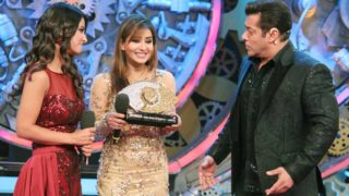 Shilpa Shinde defeats Hina Khan to win Salman Khan's Bigg Boss 11