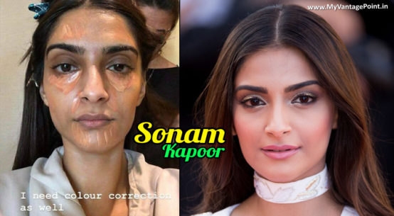 Sonam Kapoor Article about Makeup, Sonam Kapoor Article, Sonam Kapoor makeup secret, truth behind actress beauty, how bollywood actresses look so beautiful