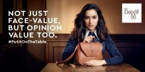 Baggit Launches Its New Campaign with Shraddha Kapoor
